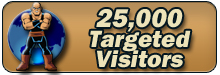 25,000 Targeted Visitors